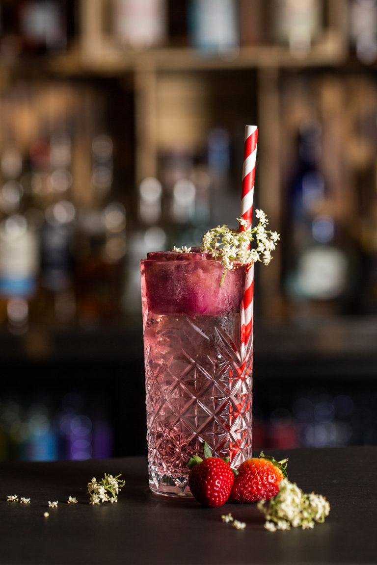 Christmas Highball Cocktail