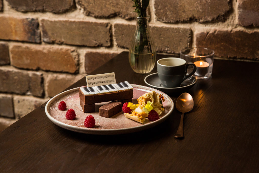 School of Choc Piano Dessert