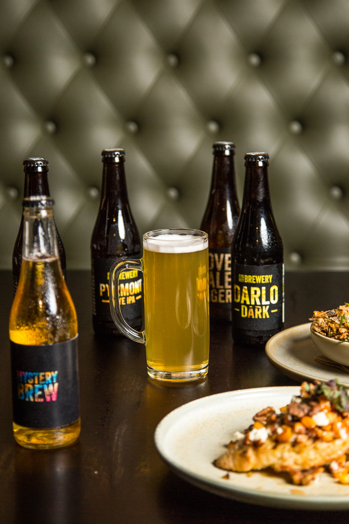 Sydney Brewery Beer with Food