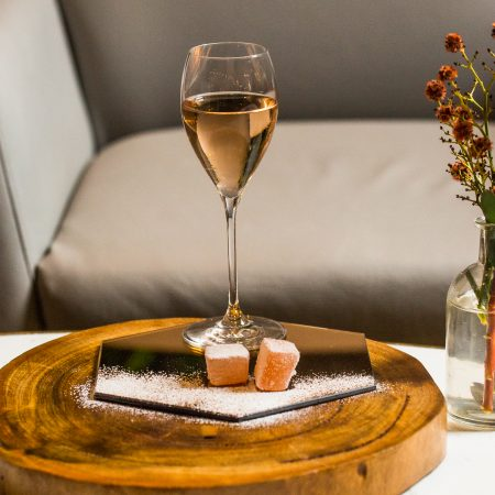 Brown Brothers Muscat Rosé paired with Turkish Delight